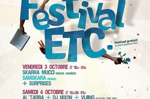 Al'Tarba - Cergy Pontoise - Festival ETC - 4 octobre 2014