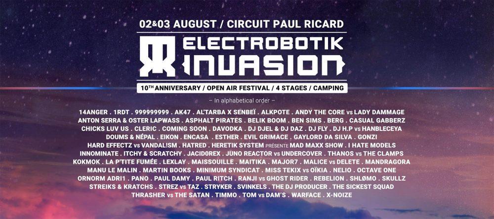 Le Castelet (83) @ Electrobotik festival #10