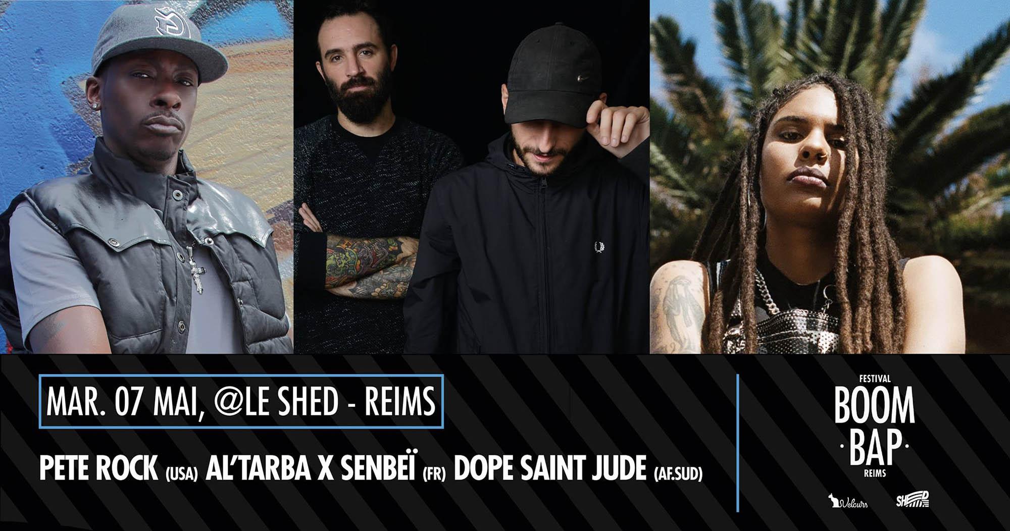 Pete-Rock-AL-TArba-Senbei-Dope-Saint-Jude-7mai2019
